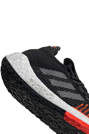 ADIDAS Pulseboost HD Shoes - Black/Grey/Red | Men's image 4 - The Sports Edit