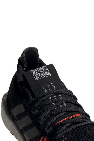 ADIDAS Pulseboost HD Shoes - Black/Grey/Red | Men's image 5 - The Sports Edit