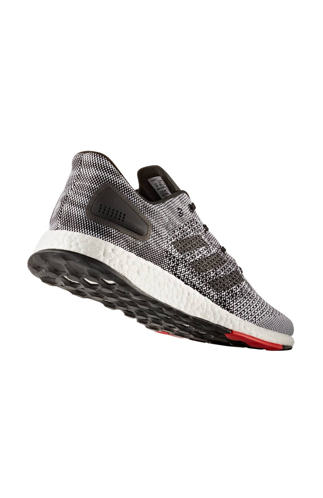 ADIDAS Men's Pure Boost DPR - Black/ Grey image 3 - The Sports Edit