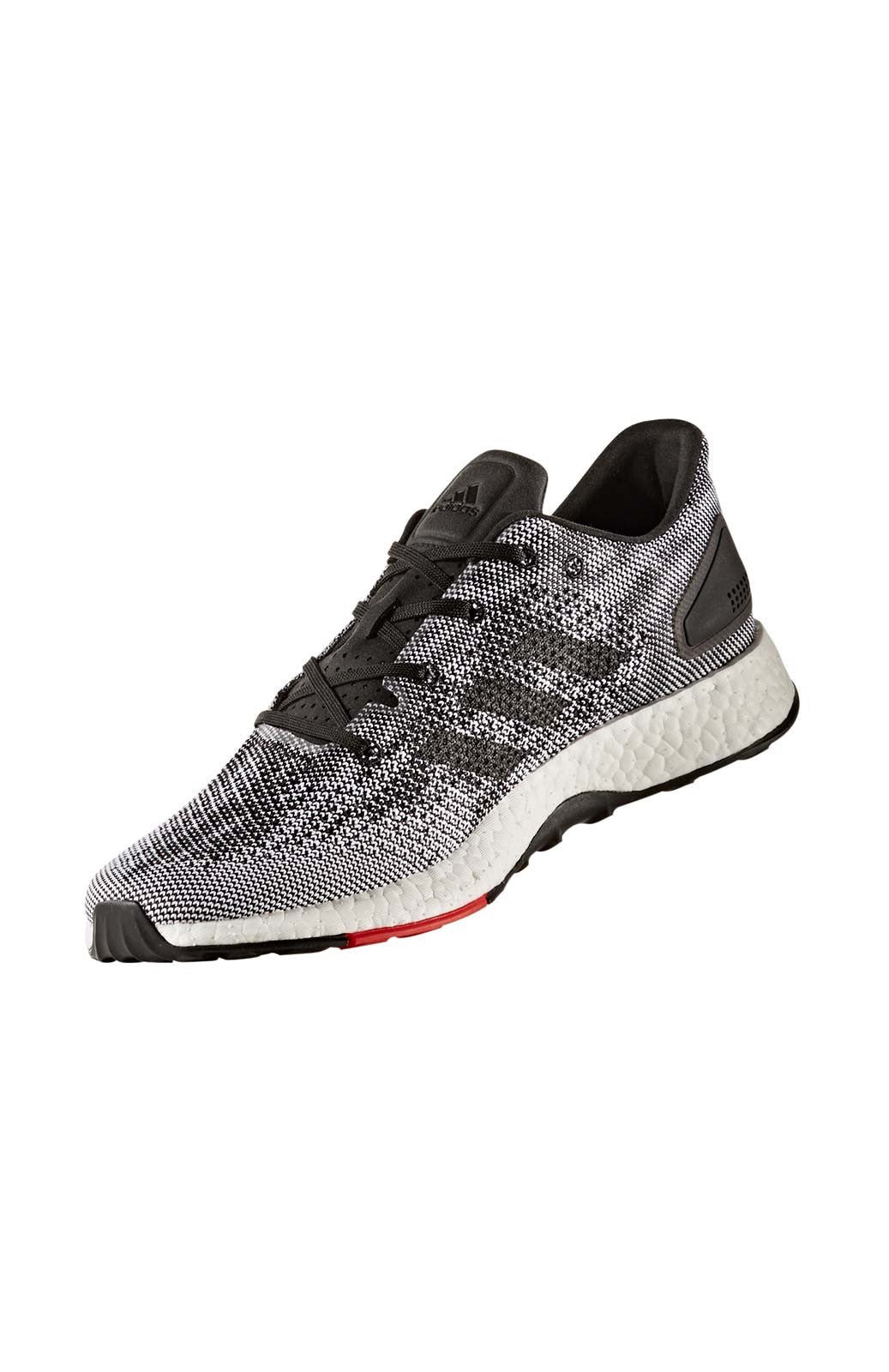 ADIDAS Men's Pure Boost DPR - Black/ Grey image 2 - The Sports Edit