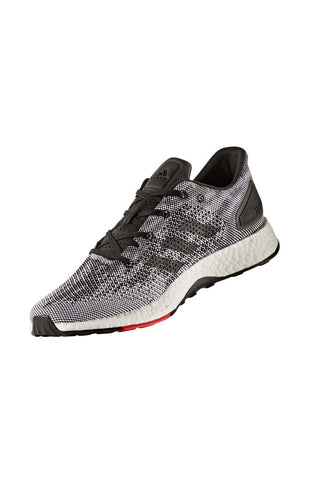 ADIDAS Men's Pure Boost DPR - Black/ Grey image 1 - The Sports Edit