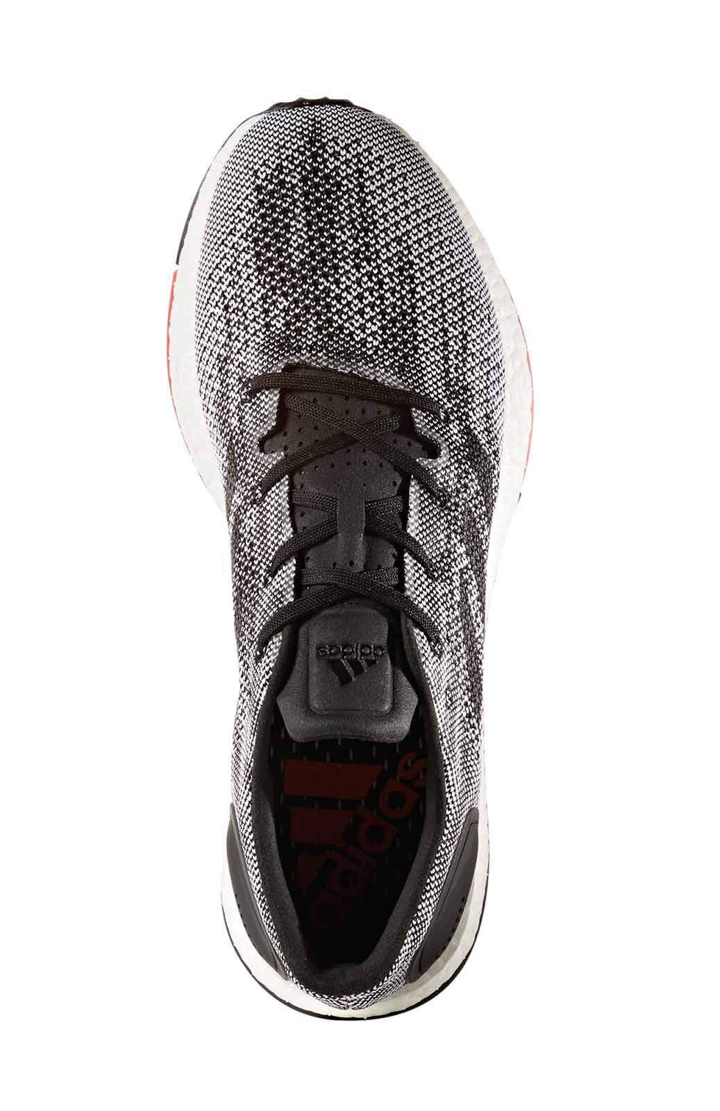 ADIDAS Men's Pure Boost DPR - Black/ Grey image 5 - The Sports Edit