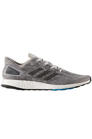 ADIDAS Men's Pure Boost DPR Shoes - Grey image 2 - The Sports Edit
