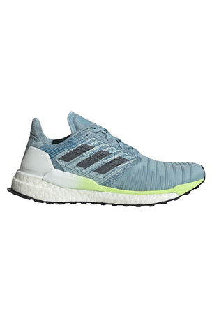ADIDAS Solar Boost Shoes - Ash Grey/Onix/Yellow image 1 - The Sports Edit