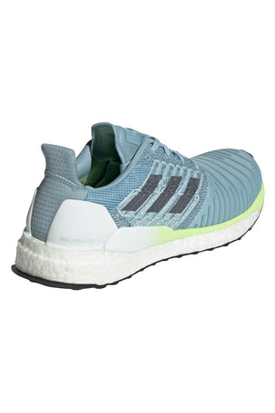 ADIDAS Solar Boost Shoes - Ash Grey/Onix/Yellow image 4 - The Sports Edit