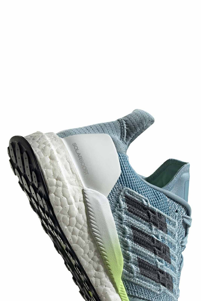 83152a285b2a8 ADIDAS Solar Boost Shoes - Ash Grey Onix Yellow image 2 - The Sports