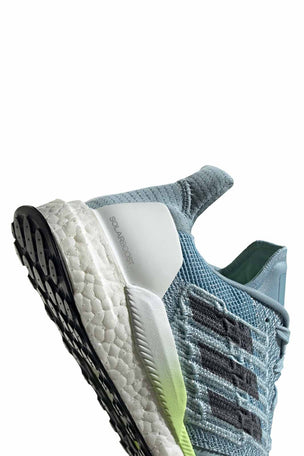 ADIDAS Solar Boost Shoes - Ash Grey/Onix/Yellow image 2 - The Sports Edit