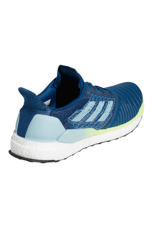 ADIDAS Solar Boost Shoes - Legend Marine/Ash Grey/Yellow image 3 - The Sports Edit