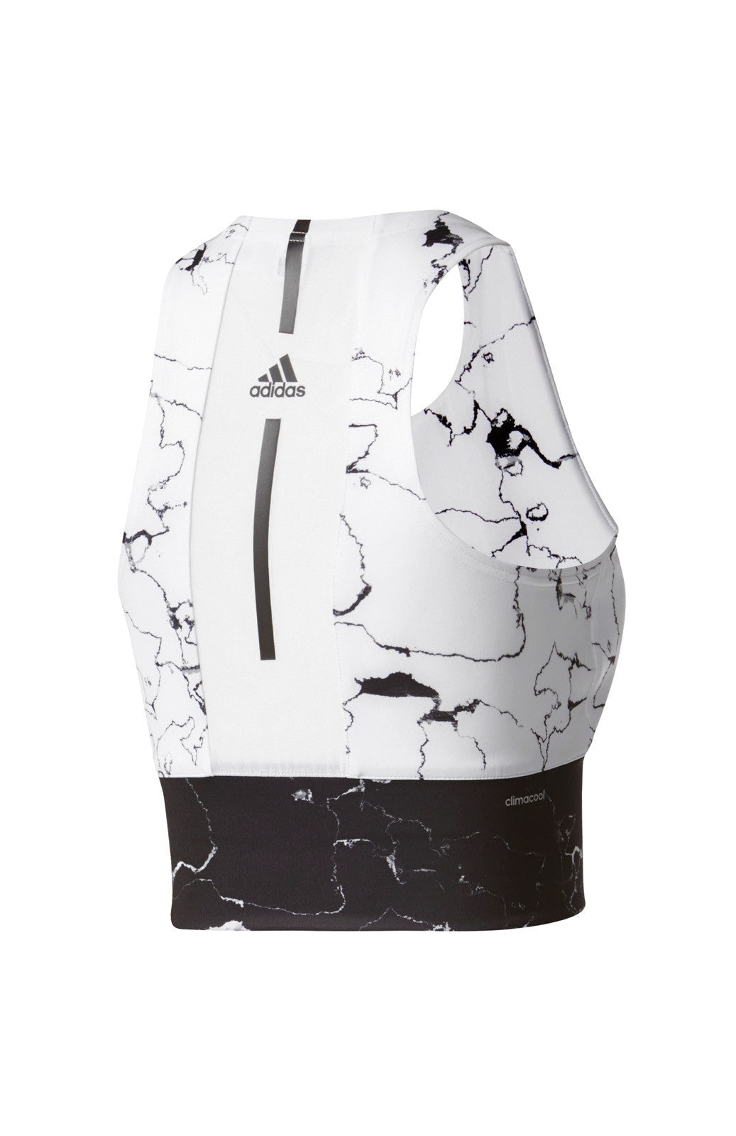ADIDAS Marble Speed Crop Tank Top image 4 - The Sports Edit
