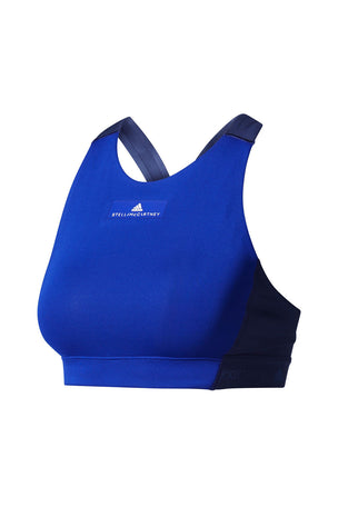 adidas X Stella McCartney The ClimaChill® Bra - Mystery Ink image 5 - The Sports Edit