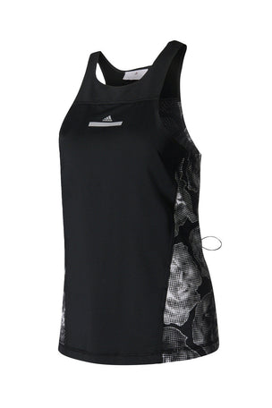 adidas X Stella McCartney Run ADZ Tank Blk image 6 - The Sports Edit