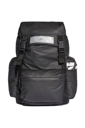 adidas X Stella McCartney Backpack - Black White image 1 - The Sports Edit 811fa8b885