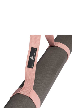 adidas X Stella McCartney Training Mat - Granite/Pink image 2 - The Sports Edit