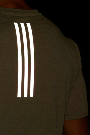 ADIDAS Supernova Tee - Green image 5 - The Sports Edit