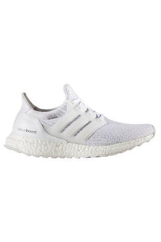 ADIDAS Men's Ultra Boost 3.0 'Triple White' image 1 - The Sports Edit