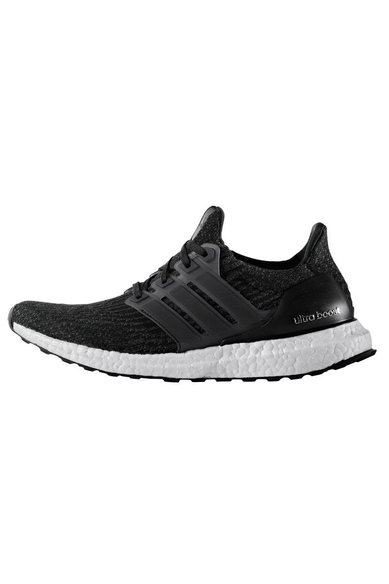 ADIDAS Women's Ultra Boost 3.0 'Core Black' image 4 - The Sports Edit