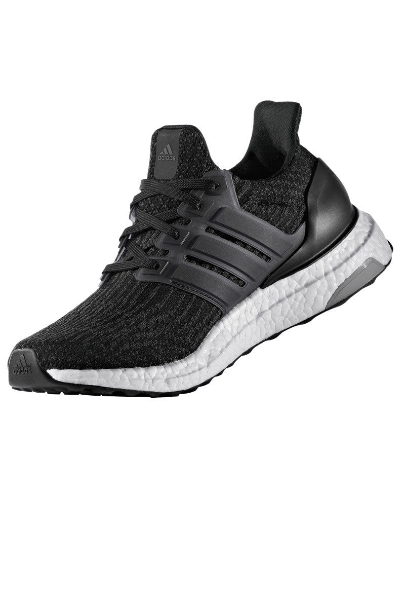 ADIDAS Women's Ultra Boost 3.0 'Core Black' image 2 - The Sports Edit