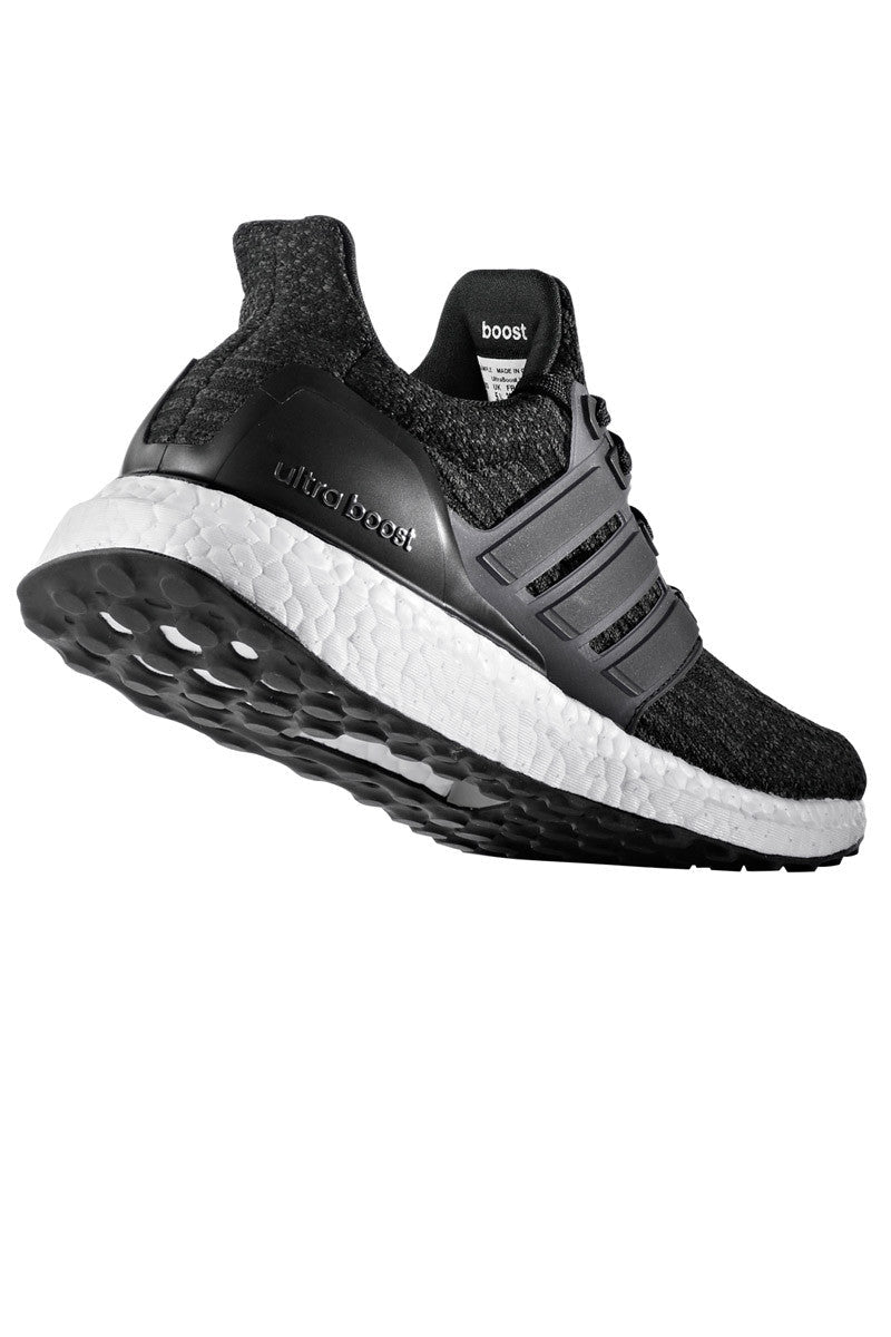 ADIDAS Women's Ultra Boost 3.0 'Core Black' image 7 - The Sports Edit