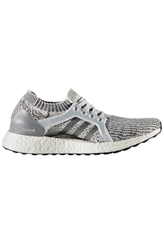 ADIDAS Ultra Boost X Grey/Silver image 1 - The Sports Edit