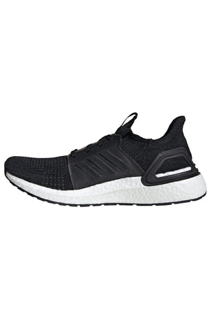 ADIDAS Ultra Boost 19 Shoes - Black | Men's image 2 - The Sports Edit