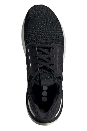 ADIDAS Ultra Boost 19 Shoes - Black | Men's image 6 - The Sports Edit
