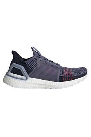ADIDAS Ultra Boost 19 Shoes - Indigo/Red | Women's image 1 - The Sports Edit