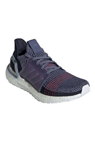 ADIDAS Ultra Boost 19 Shoes - Indigo/Red | Women's image 3 - The Sports Edit