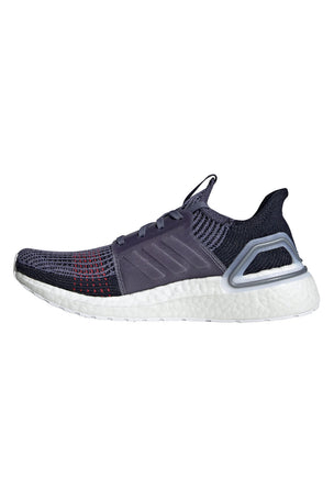 ADIDAS Ultra Boost 19 Shoes - Indigo/Red | Women's image 4 - The Sports Edit