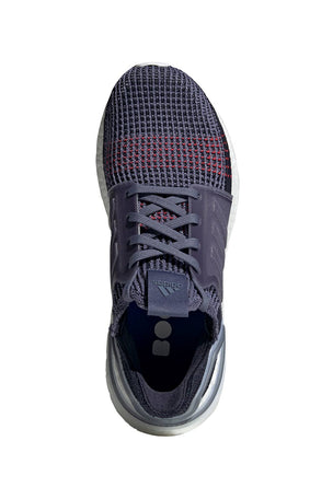 ADIDAS Ultra Boost 19 Shoes - Indigo/Red | Women's image 5 - The Sports Edit