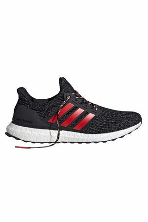 ADIDAS Ultraboost Shoes - Black/Scarlet | Men's image 6 - The Sports Edit