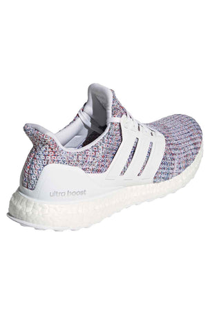 ADIDAS Ultraboost Shoes - White/Multicolour | Men's image 3 - The Sports Edit