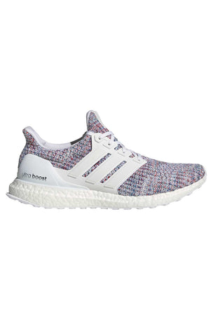ADIDAS Ultraboost Shoes - White/Multicolour | Men's image 1 - The Sports Edit