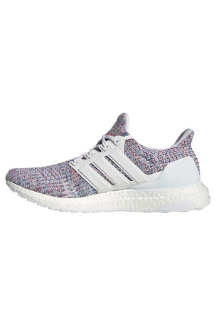 ADIDAS Ultraboost Shoes - White/Multicolour | Men's image 4 - The Sports Edit