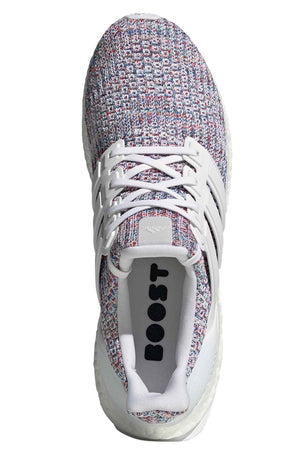ADIDAS Ultraboost Shoes - White/Multicolour | Men's image 6 - The Sports Edit