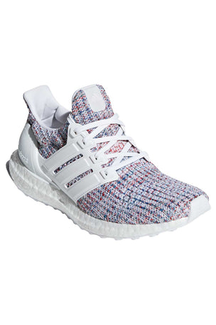 ADIDAS Ultraboost Shoes - White/Multicolour | Women's image 3 - The Sports Edit