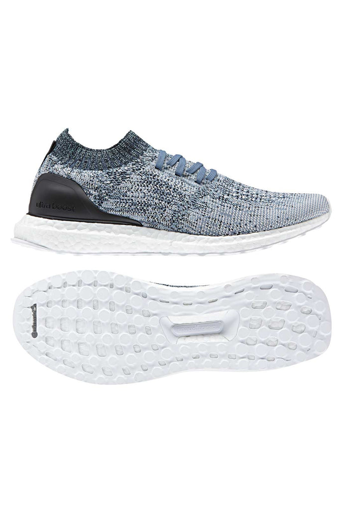 976f4f8b7 ADIDAS UltraBoost Uncaged Parley - Blue - Men s image 4 - The Sports Edit