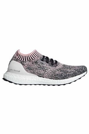 ADIDAS UltraBoost Uncaged Shoes - Pink/Carbon | Women's image 1 - The Sports Edit