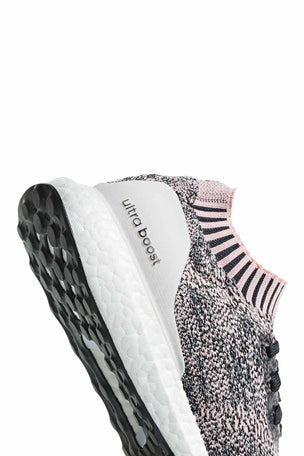 ADIDAS UltraBoost Uncaged Shoes - Pink/Carbon | Women's image 5 - The Sports Edit