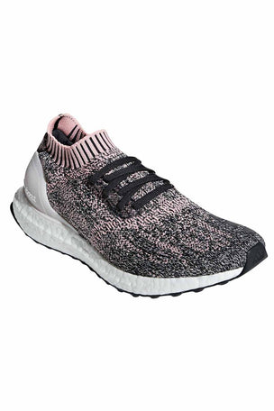 ADIDAS UltraBoost Uncaged Shoes - Pink/Carbon | Women's image 4 - The Sports Edit