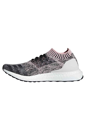 ADIDAS UltraBoost Uncaged Shoes - Pink/Carbon | Women's image 2 - The Sports Edit