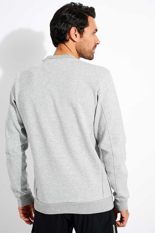 Adidas Winter Badge of Sport Sweatshirt - Grey image 2 - The Sports Edit