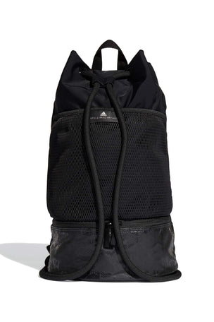 adidas X Stella McCartney Gym Sack - Black image 1 - The Sports Edit