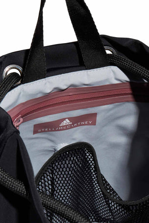 adidas X Stella McCartney Gym Sack - Black image 4 - The Sports Edit