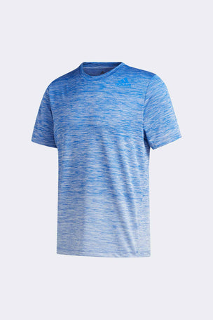 Adidas Tech Gradient T-Shirt - Glory Blue image 5 - The Sports Edit