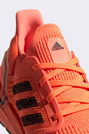 Adidas Ultraboost 20 Shoes - Signal Coral/Black | Women's image 4 - The Sports Edit
