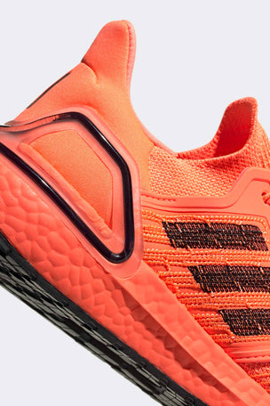 Adidas Ultraboost 20 Shoes - Signal Coral/Black | Women's image 5 - The Sports Edit