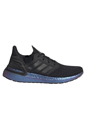 Adidas Ultraboost 20 Shoes - 'Space Race' Black | Men's image 1 - The Sports Edit
