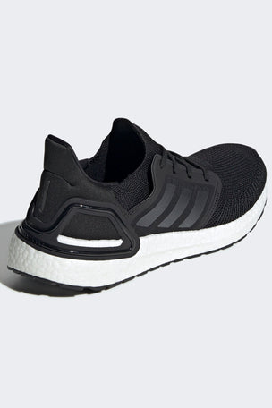 ADIDAS Ultraboost 20 Shoes - Core Black/Cloud White | Men's image 2 - The Sports Edit