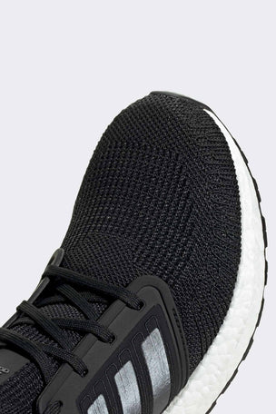 ADIDAS Ultraboost 20 Shoes - Core Black/Cloud White | Men's image 4 - The Sports Edit