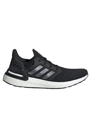 ADIDAS Ultraboost 20 Shoes - Core Black/Cloud White | Men's image 1 - The Sports Edit